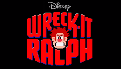Walt Disney's wreck it ralph title logo rare promo hot