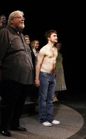 richard griffiths daniel radcliffe nakes shirtless rare promo hot naked harry potter stars uncle vernon richard griffiths tony award winner rare promo Harry-Potter-actor-Richard-Griffiths-dead-at-65