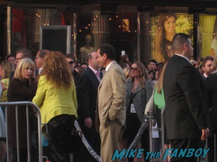 Tony Shalhoub arriving at the pain and gain movie premiere with marky mark wahlberg signed autograph rare promo hot