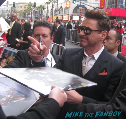 Iron man 3 world premiere with robert downey jr don cheadle guy pierce zachary levi