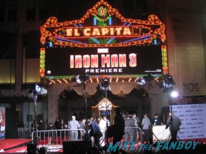 Iron man 3 world premiere with robert downey jr don cheadle guy pierce zachary levi