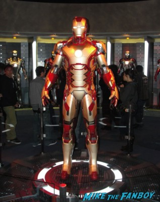 iron man exhibit walt disney's california adventure rare tony stark iron man props suits Iron Man Tech Presented by Stark Industries