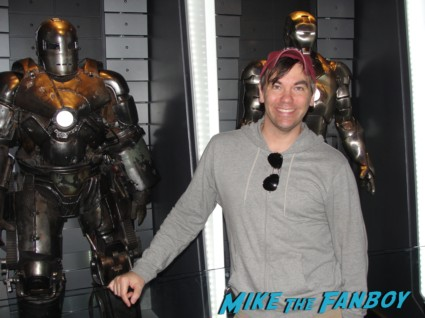 iron man exhibit walt disney's california adventure rare tony stark iron man props suits Iron Man Tech Presented by Stark Industries