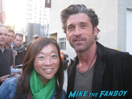 Meeting Patrick Dempsey & Mad Men's Elisabeth Moss! Signing Autographs! Photos! Can't Buy Me Love Goodness!