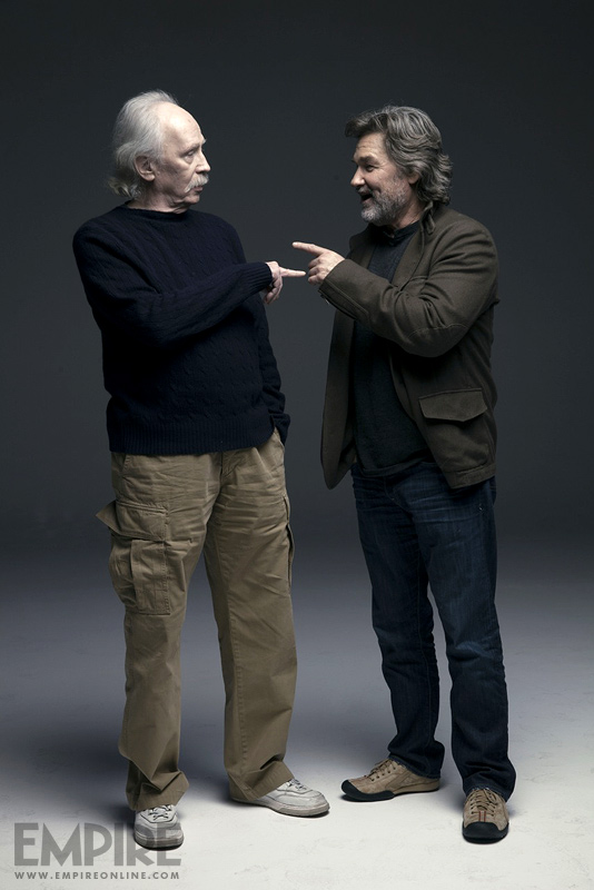 Kurt Russell Empire magazine 2013 john carpenter reunion escape from new york big trouble in little china
