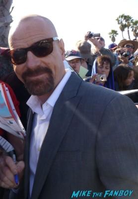 Bryan Cranston fan photo signing autographs for fans