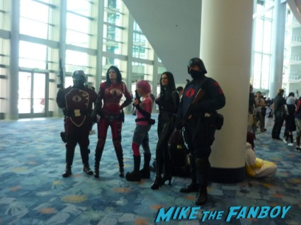 COBRA G.I. Joe: COBRA cosplay at wondercon 2013 rare promo hot