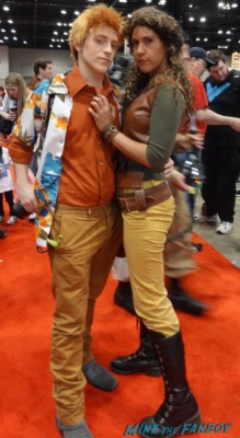 c2e2 cosplayers 2013 firefly serenity wash gina torres promo