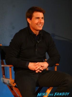 Tom Cruise Oblivion q and a new york hot sexy rare risky business star promo hot joseph kosinski