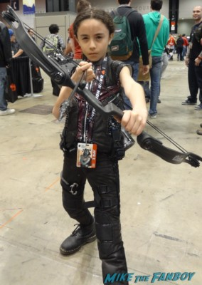 c2e2 cosplayers 2013the walking dead chandler riggs costume cosplay