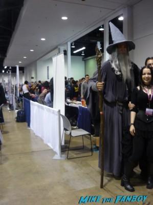 Lord of the Rings: Gandalf the Grey cosplay wondercon 2013 rare ian mckellan