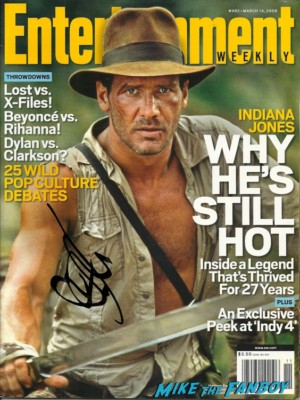 Harrison Ford signed autograph entertainment weekly magazine cover indiana jones rare promo harrison ford signing autographs  hot sexy true blood photo Christopher Meloni signing autographs for fans hot sexy 42 wold movie premiere rare true blood star hot