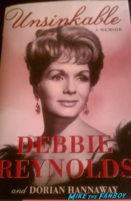 unsinkable book cover debbie reynolds rare promo dust cover rare