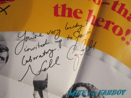 nell campbell little nell signed autograph rocky horror picture show one sheet poster rare