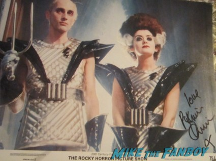 patricia quinn magenta signed autograph rocky horror picture show one sheet poster rare