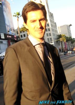 joseph kosinski  signing autographs for fans Oblivion Movie Premiere red carpet promo! Tom Cruise! Morgan Freeman! Joseph Kosinski! Coolness!