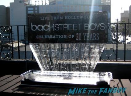 Backstreet boys 20 year fan celebration rare promo hot fonda theater marquee rare