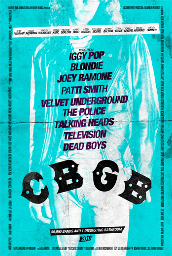 CBGB rare promo poster movie one sheet rare joey ramone joel david moore JOEY1