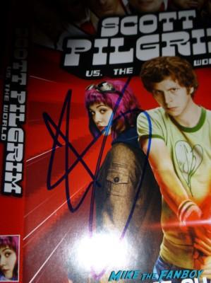 Jason Schwartzman signing autographs for fans fan photo signing autographs for fans
