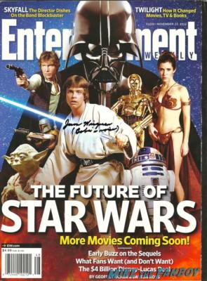 Jason Wingreen signed autograph photo rare promo hot sexy entertainment weekly star wars rare promo