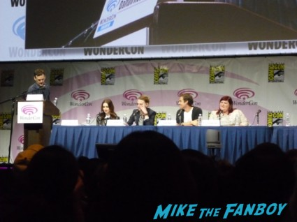 Mortal Instruments panel at wondercon 2013 rare promo new twilight hot sexy cast q and a  Lily Collins, Jamie Campbell Bower, Kevin Zegers and Cassandra Clare
