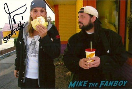 Jason Mewes Signed autograph photo rare clerks rare jay and silent bob rare promo