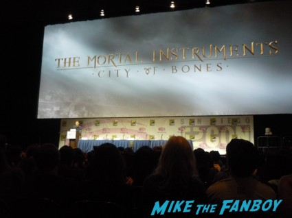 Mortal Instruments panel at wondercon 2013 rare promo new twilight hot sexy cast q and a