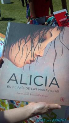 alicia the book the novel strumpet los angeles times festival of books rare promo hot