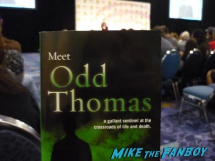 Odd Thomas book given away at wondercon 2013 Dean Koontz panel wondercon 2013 rare promo book authors rare
