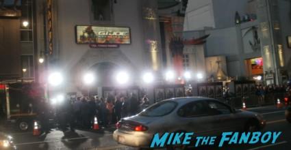 dwayne johnson the rock Signing Autographs at the G.I. Joe retaliation movie premiere hot sex rare promo