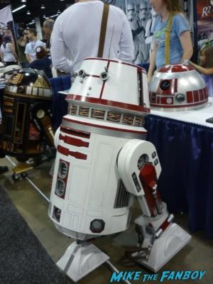 R2-D2 wondercon cosplay wondercon 2013 rare promo