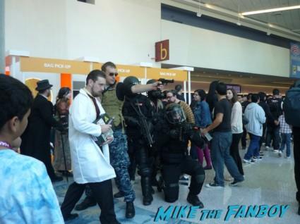 Resident Evil Resident Evil: Umbrella Corporation cosplayers at wondercon 2013