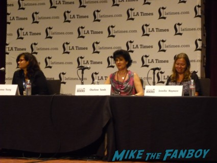 Body Heat Romance Panel the novel strumpet at the los angeles times festival of books rare promo book signing rare