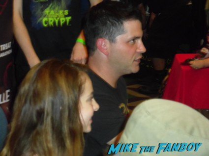 Kane Hodder was chocking Robert because I asked him to. Adam Green, Laura Ortiz, and Joe Lynch