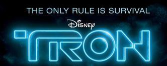 Disney tron legacy logo rare tr3n tron sequel news rare promo