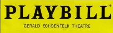 playbill logo and subject head line rare promo daniel craig hot