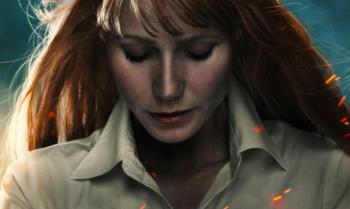 Gwyneth Paltrow iron man 3 promo poster rare hot movie poster promo one sheet rare
