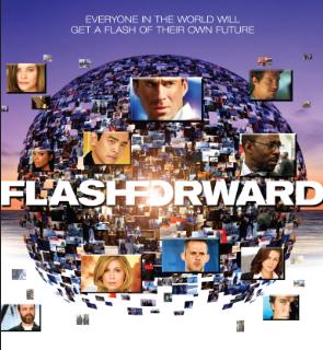 flashforward poster rare promo abc Flashforward cast photo rare abc series dominin monahan courtney b vance john cho