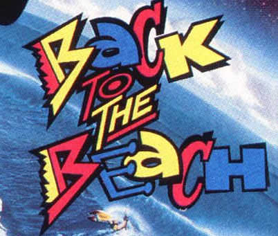 back to the beach logo rare annette funicello press promo still back to the beach annette Funicello frankie avalon back to the beach movie poster rare bob denver rare promo