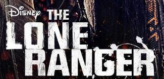 The Lone ranger logo rare promo movie poster rare johnny depp hot sexy rare movie poster promo
