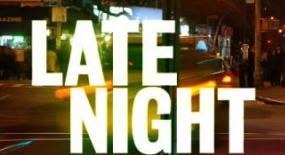 late night logo rare promo photo alec baldwin rare promo