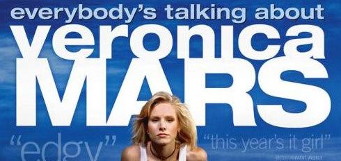 Veronica Mars Movie logo kickstarter campaign rare promo hot kristen bell