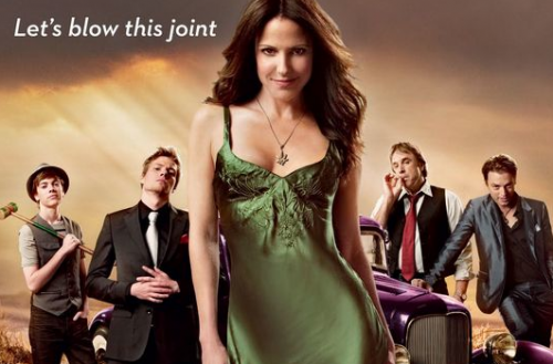 Weeds season 6 rare promo header photo hot sexy mary louise parker photo hunter parrish broadway