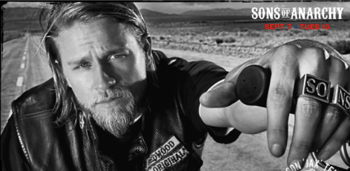 Charlie hunnam hot sexy jaxx teller rare promo sons of anarchy header