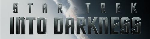star trek into darkness character banner poster rare chris pine zachary quinto zoe saldana