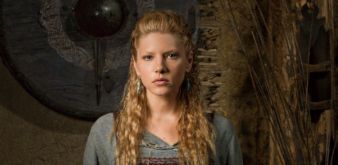 Katheryn Winnick (Bones) who plays Lagertha Lothbrok vikings press promo still hot