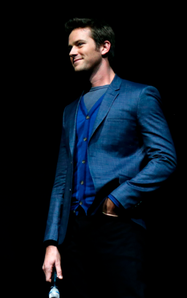 armie hammer at CinemaCon The Lone Ranger panel livestream q and a Johnny Depp, Armie Hammer, director Gore Verbinski and Jerry Bruckheimer