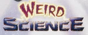 weird science logo rare weird science logo movie poster banner header anthony michael hall rare promo