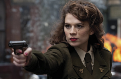 hayley atwell rare promo captain america the first avenger press still chris evans captain america the first avenger rare header photo hot sexy chris evans hayley atwell rare promo