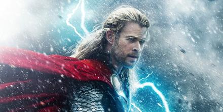Thor: The Dark world movie poster one sheet hot sexy chris hemsworth rare promo